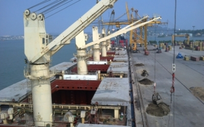 Dis ops at Cailan port
